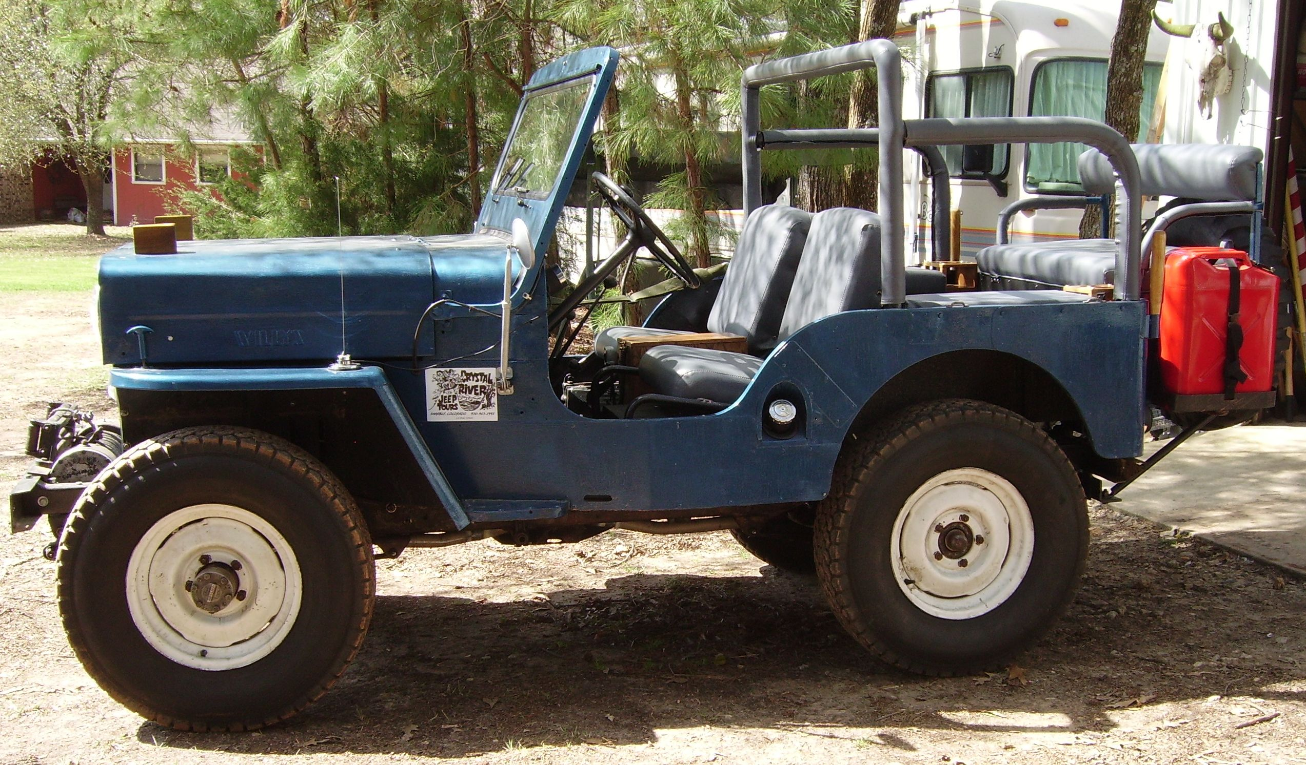 1954 WILLYS CJ3B -- Completed Restoration